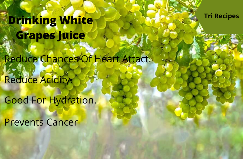 the many benefits of white grapes juice